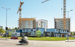 Oulun Lipporannan asunnot rakenteilla 2017
